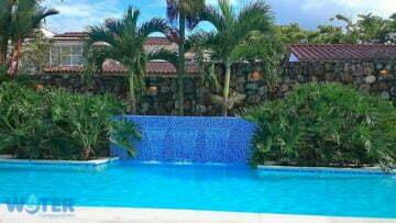 Cascadas para piscina